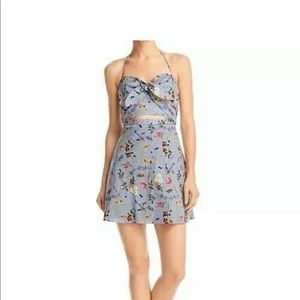 Bailey floral mini dress